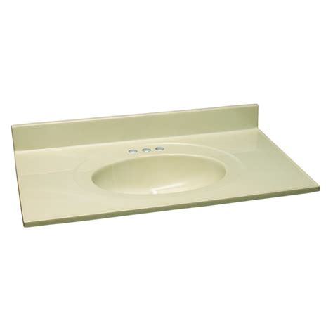 design house vanity design house vanity top with bowl from the cultured marble series
