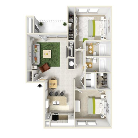 large 1 bedroom apartment floor plans 1 and 2 bedroom apartment layouts courtyard apartments