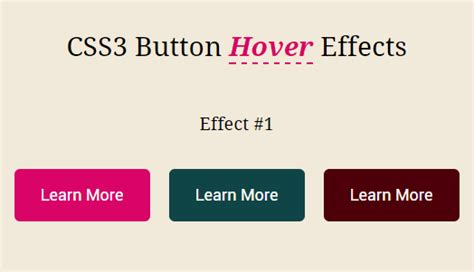css3 hover link effects designmodo css3 button hover effects with fontawesome