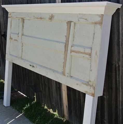 panel door headboard rare left right symmetrical 6 panel door headboard