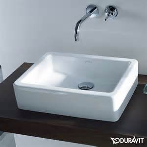 duravit vero countertop washbasin ground white without