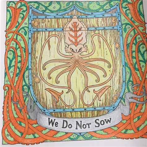 unofficial of thrones colouring book 17 best images about coloring book of thrones on