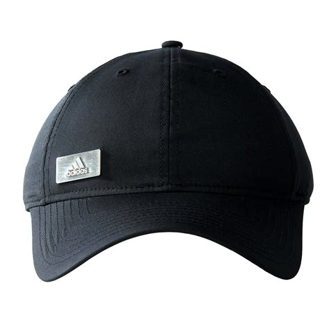adidas hat adidas performance metal logo cap hat black ebay