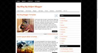 Blogs Template by Templates Professional Version Free Software