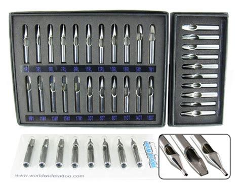 worldwide tattoo supply steel tip sets stainless steel tips steel grips