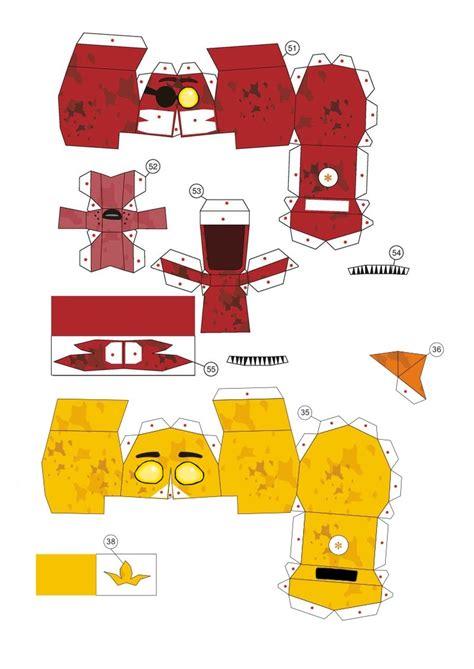 Papercraft For - papercraft fnaf l heads by molegulasdetonados on deviantart