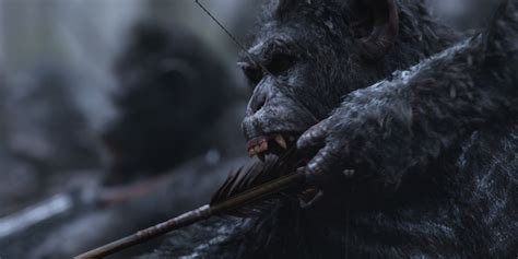 of the planet of the apes war for the planet of the apes has significantly more apes