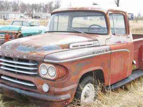 1958 dodge truck for sale buy used 1958 dodge stepside v8 stick shift big