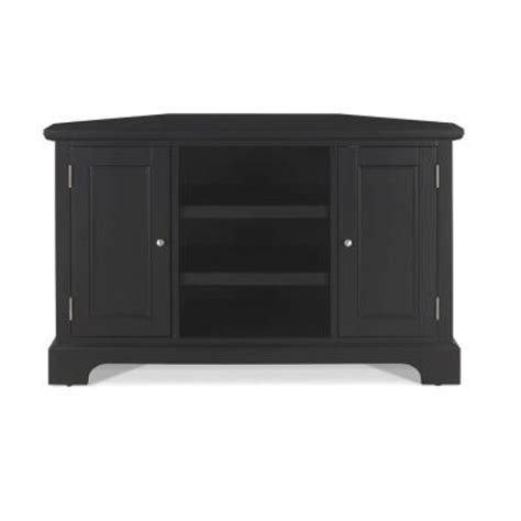 home styles bedford black corner tv stand 5531 07 the