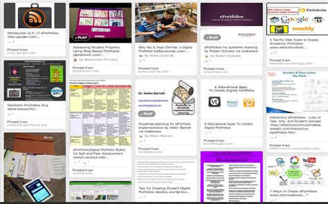 Great Eportfolio Resources For Teachers Educational Technology And Mobile Learning Free Eportfolio Templates