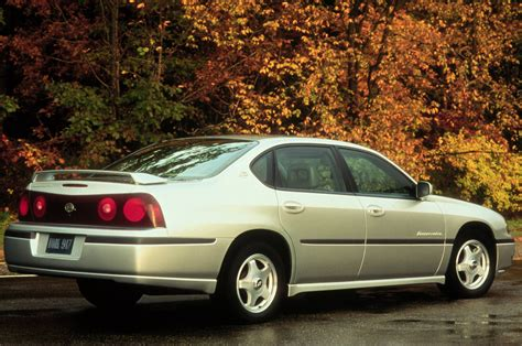 by the numbers 2000 2014 chevrolet impala