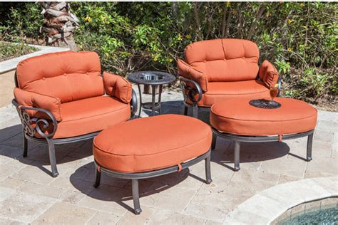 Oversized Outdoor Chairs by Bridgeton Adt 1 Tuscany Oversized Outdoor Club Chair Set With B Tropical