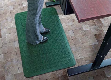 standing desk fatigue mat whitevan