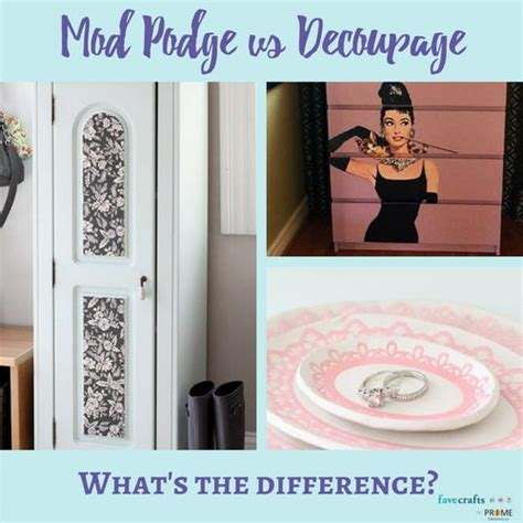 What Can You Decoupage - mod podge vs decoupage what s the difference