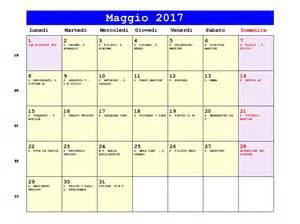 Calendario 2019 Maggio Calendario Maggio 2017 Pdf Ascensione Festa Della Mamma