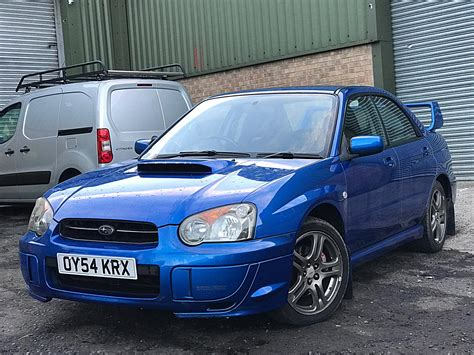 subaru impreza wrx sti for sale pistonheads used 2004 subaru impreza wrx for sale in lancashire