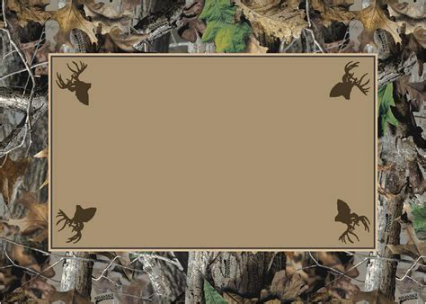 free business card templates with mossy oak timber realtree bordered tree leaves camouflage