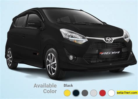 All New Toyota Agya all new toyota agya tahun 2017 warna hitam setia1heri