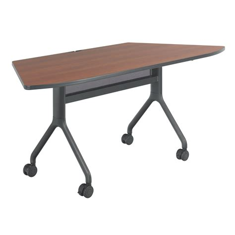 Trapezoid Conference Table Rumba Series 72 215 30 Trapezoid Nesting Conference Table 2037 Cybl
