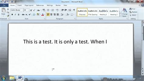 youtube tutorial office 2010 microsoft office word 2010 tutorial typing text k