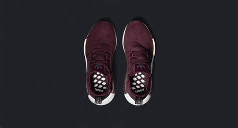 adidas nmd suede pack burgundy the sole supplier