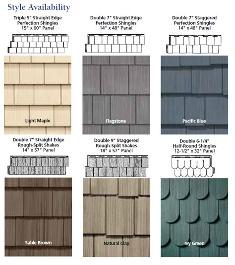 come see our vinyl shake siding it looks just like cedar
