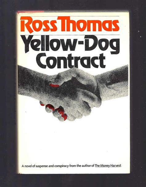 yellow contract yellow contract ross 1st edition
