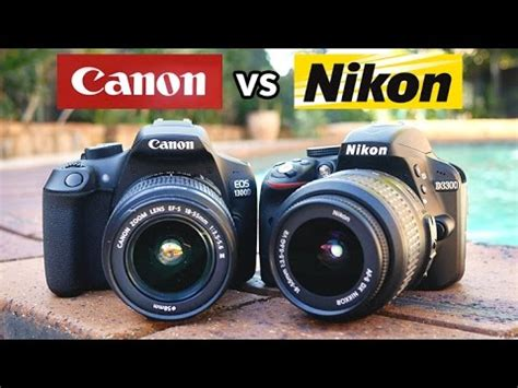 canon t6 vs nikon d3300 which is the best beginner dslr
