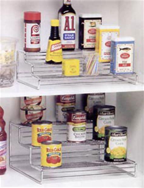 Spice Rack Risers Chrome Cabinet Riser Storage Racks In Shelf Risers And
