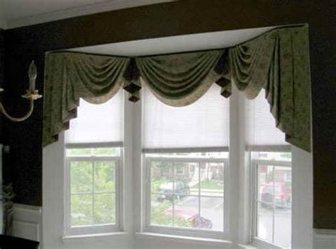 kitchen bay window curtain ideas home window design 2011 home kitchen bay window treatment ideas for 2011