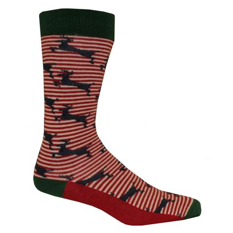 red pattern socks ted baker deer pattern striped socks navy red white underu
