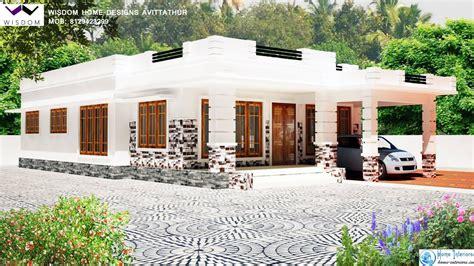 sq ft kerala modern style home design