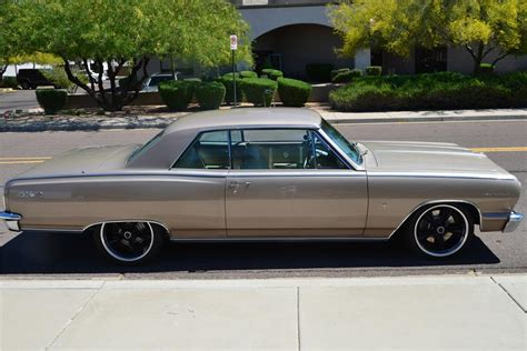 1964 chevrolet chevelle malibu ss custom 2 door coupe 177484