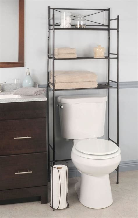 The Toilet Rack by Best Bathroom Space Saver The Toilet Storage Racks