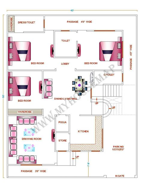 kerala home design map tags indian house map design sle house map