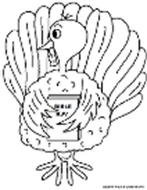 turkey trot coloring page thanksgiving coloring pages