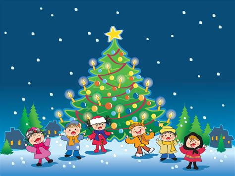 wallpaper christmas cartoon christmas pictures wallpaper images 2012