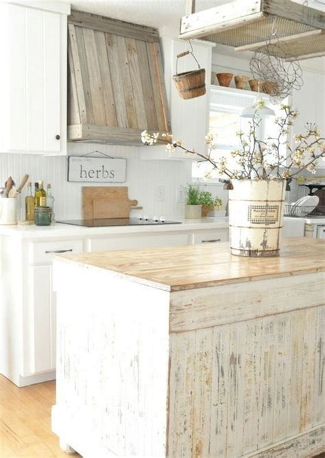 Rustic Chic Kitchen by 32 Sweet Shabby Chic Kitchen Decor Ideas To Try Shelterness