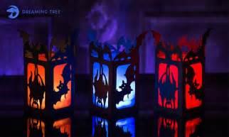 Chandelier Crafts Halloween Lantern Free File Michellemybelle Creations