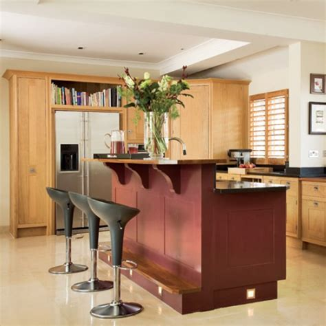kitchen with split level island unit kitchen design housetohome co uk