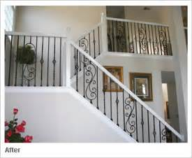 New Banister Cost Iron Balusters Iron Spindles Metal Stair Parts Basket