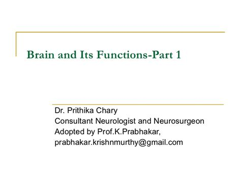 How To Detox Your Brain Part 1 Dr Caroline Leaf by Brain And Its Functions Part 1