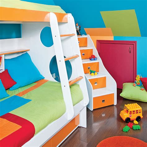 festival des couleurs pour la chambre d enfant chambre