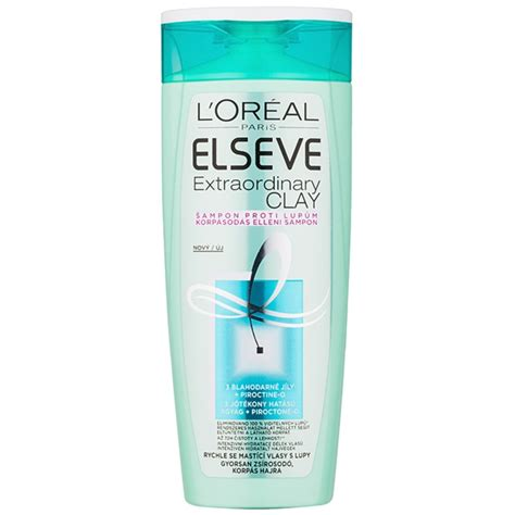 Loreal Elseve l or 233 al elseve extraordinary clay anti dandruff