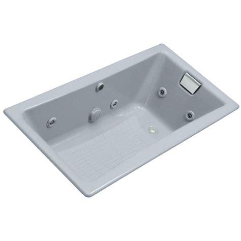 cast iron whirlpool bathtubs shop kohler cast iron rectangular whirlpool tub common
