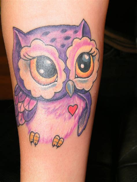 girly tattoos pictures girly owl ink me girly owl and