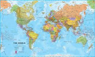 Large World Map by Extra Large World Wall Map Political Without Flags