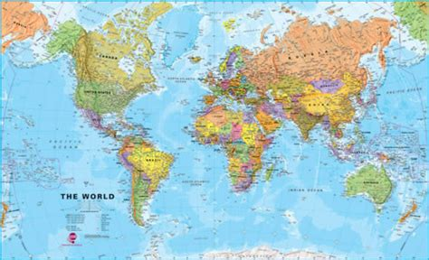 map international framed political world map x large wm005lf maps international