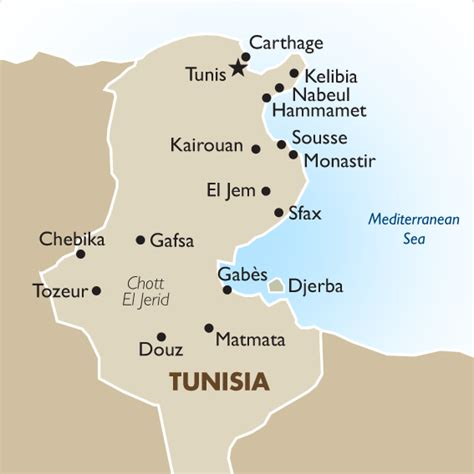 where is tunisia located on a map tunisia vacation tours travel packages 2018 19