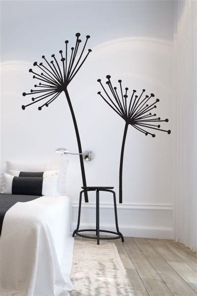 wall tat wall decals dandelion seeds walltat com art without